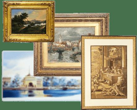 Продать картину в Украине